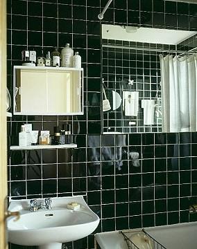 Черная ванная