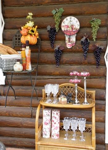 Декор для деревенского стиля - Деревенский стиль в ландшафтном дизайне - сад в